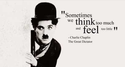 Charlie Chaplin – The Greatest Speech for Humanity Ever!