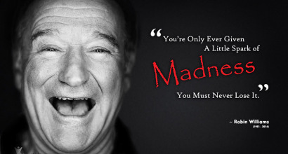 Robin Williams – A Touch of Madness